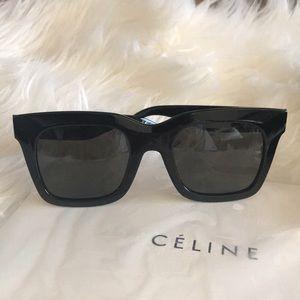CELINE Luca Sunglasses Black CL 41411 F/S